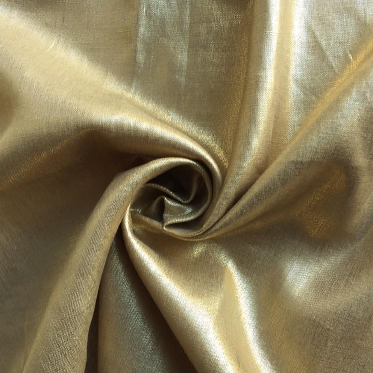 Venta de lino foil oro