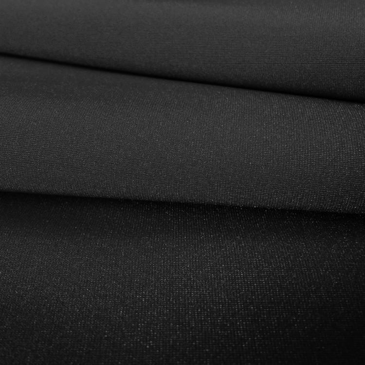 Lycra brillante negro