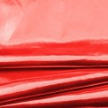 Tejido lamé rojo