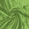 Tela de terciopelo martele color verde manzana por rollo