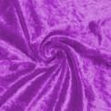 Tela de terciopelo martele color morado por rollo