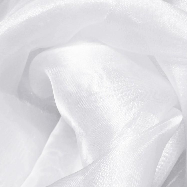 Organza cristal blanco