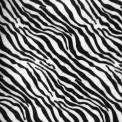 Pelo animal zebra por metro