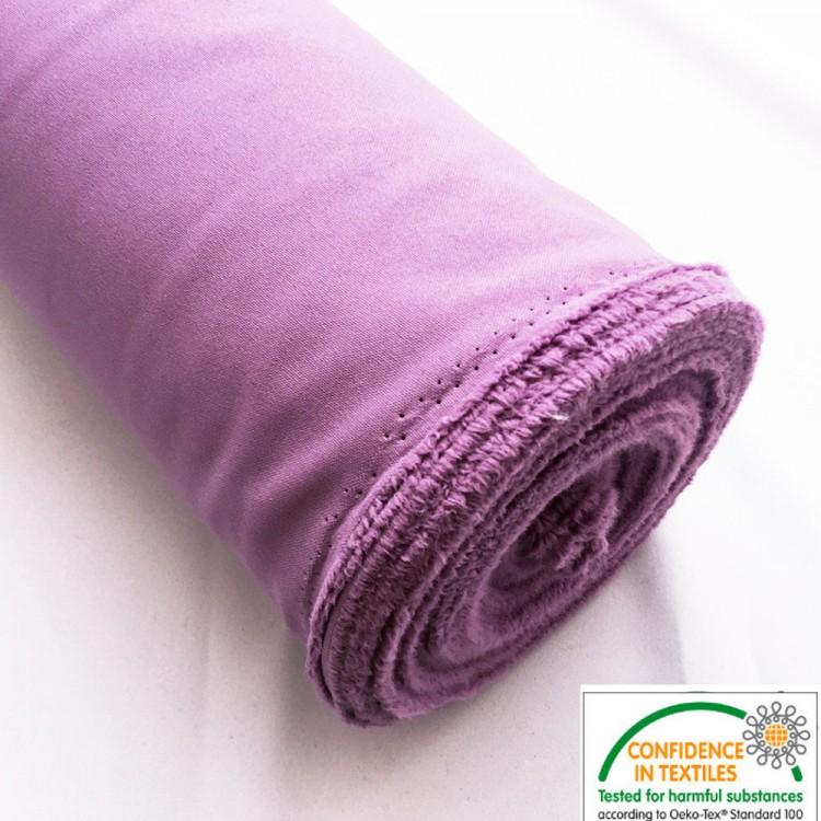 Chaquetas de punto doble cara rosa moteada fuera de punto en lana de 25 cm