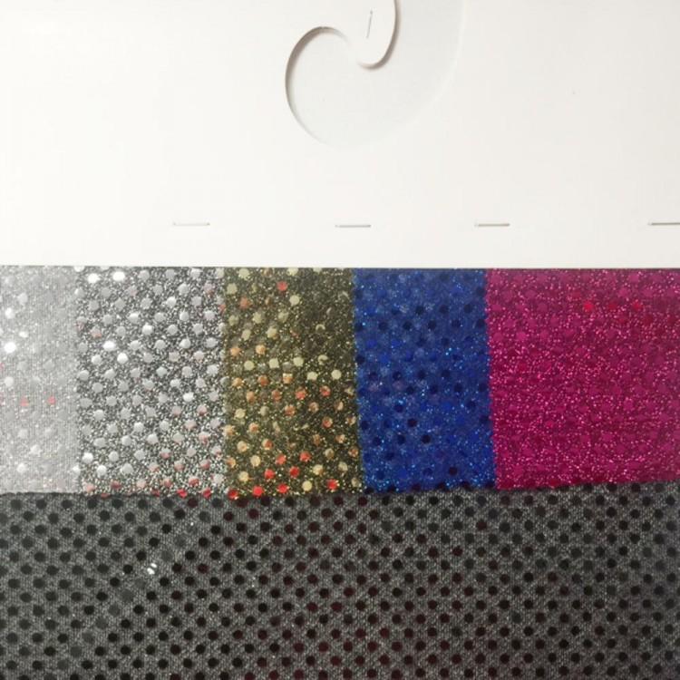 Carta color tela lentejuelas
