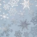 Organza frozen azul