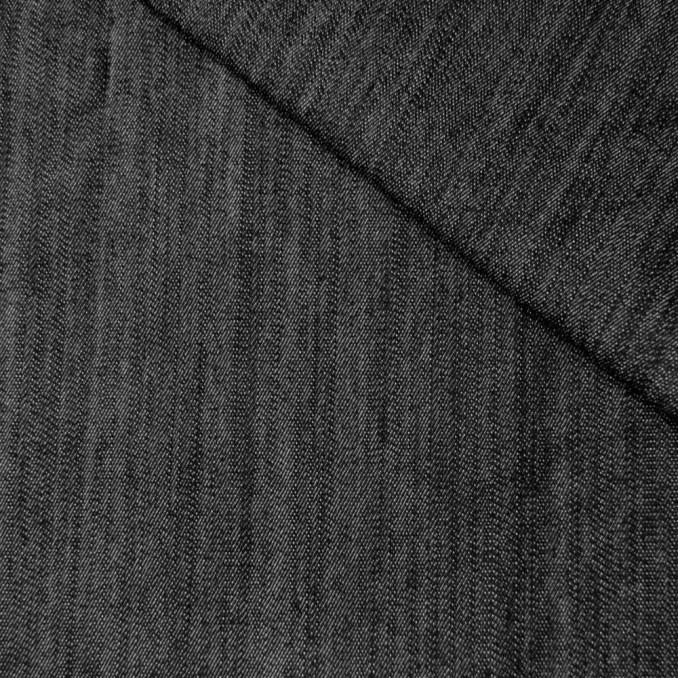 Tela vaquera strech negra