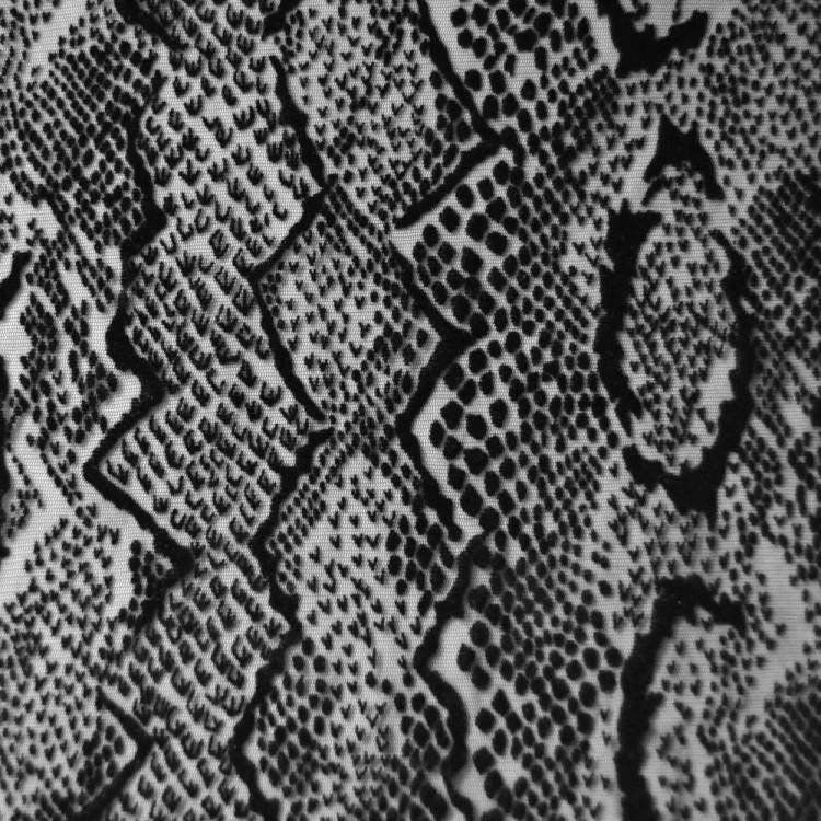 resille flockee serpent