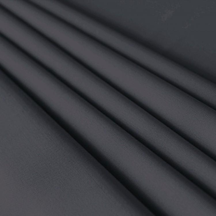 Aspecto Lino Liso Gris 100/% tela de algodón 280cm Ancho Doble