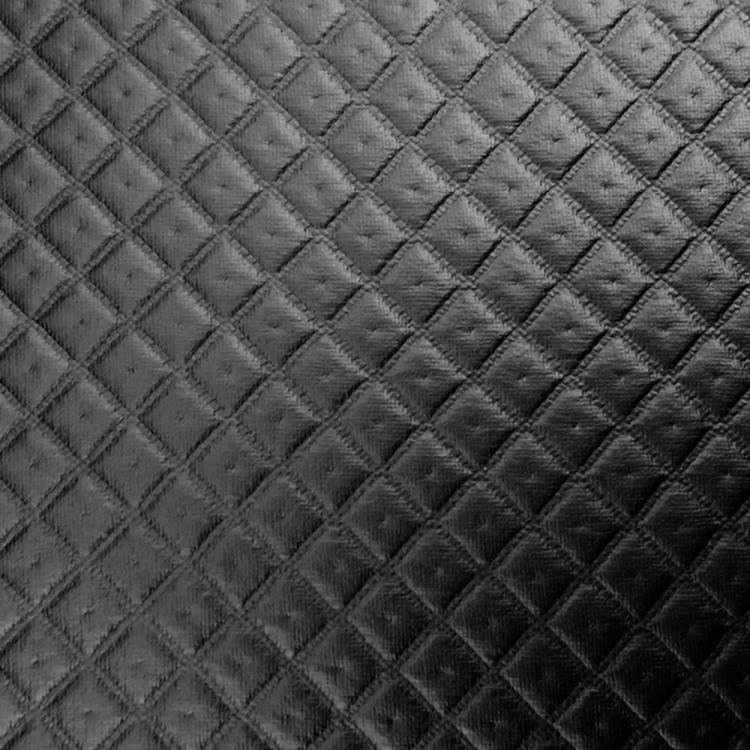 Polipiel acolchado negro