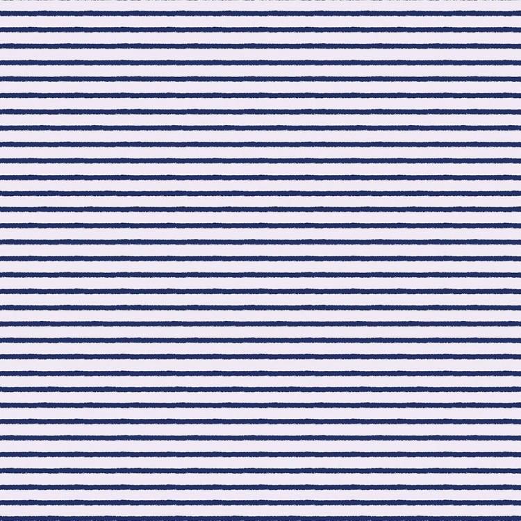 Algodón estampado rayas marineras