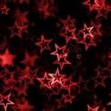 Lycra estampada estrellas rojas