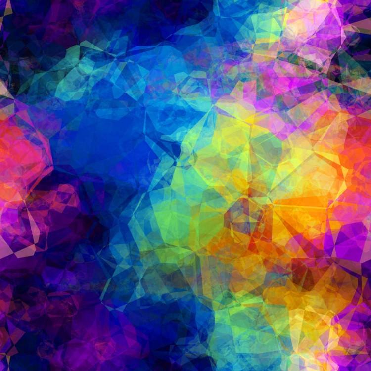 Lycra multicolor por metro