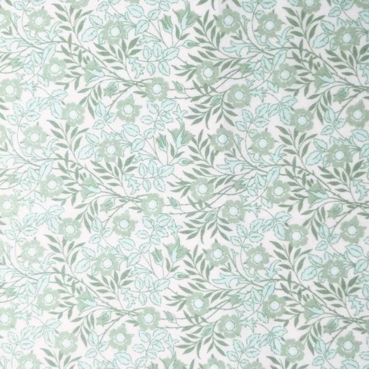Batista de algodón | tallos verdes