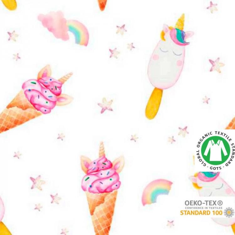 Algodón ECO estampado helado