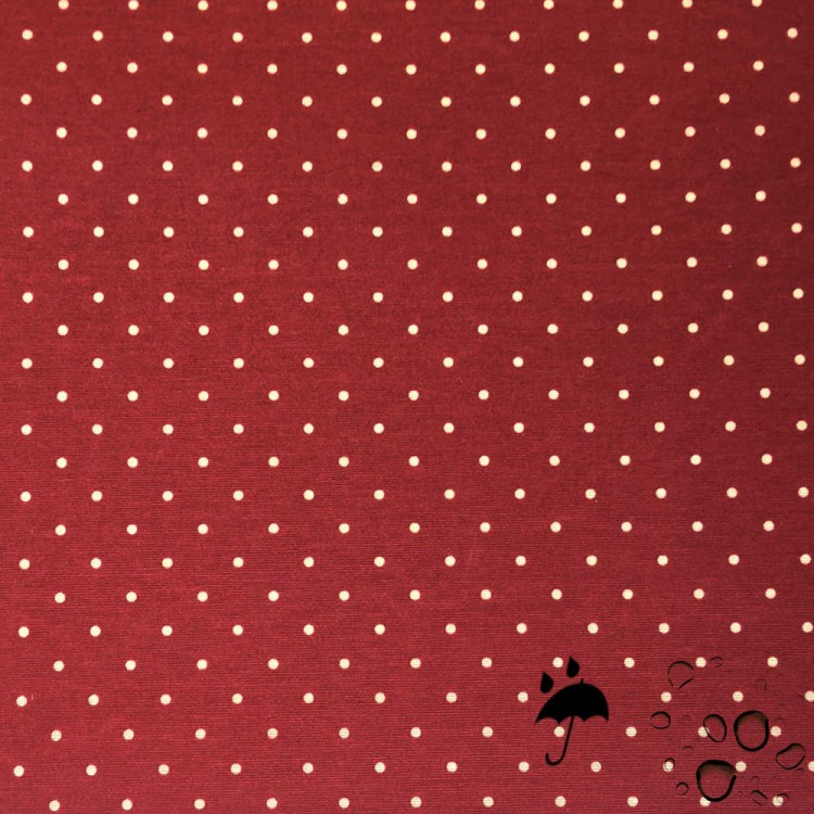 Tela resinada anti-manchas flamenco