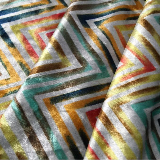 Terciopelo strech multicolor