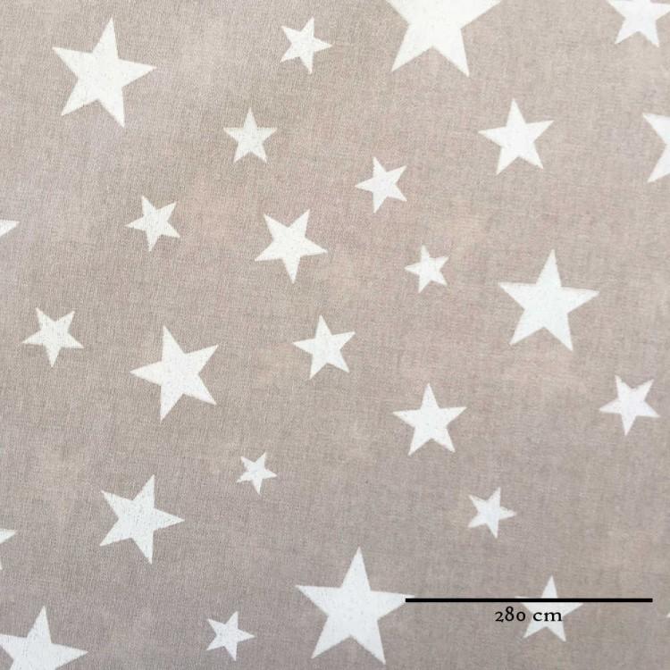 Loneta doble ancho estrellas