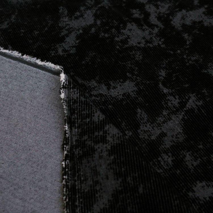 jean strech velour street-noir profond
