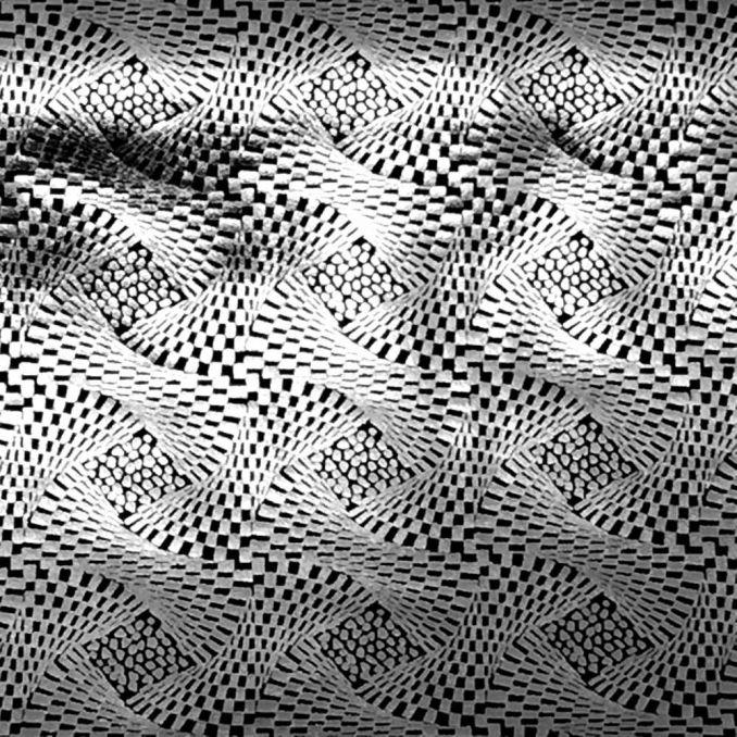 Lycra trenzado metal
