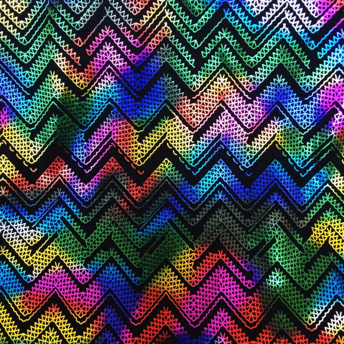 Lycra rumbos multicolor