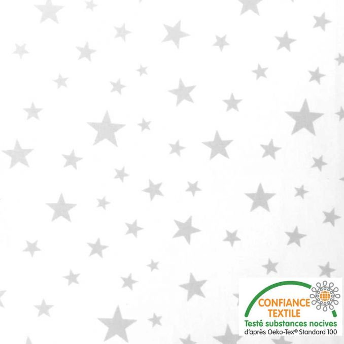 Algodón estampado Estrellas