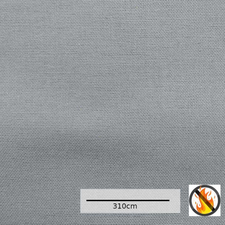 Panama doble ancho IGNIFUGO gris
