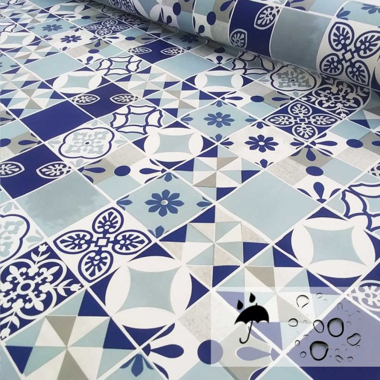 Hule mosaicos