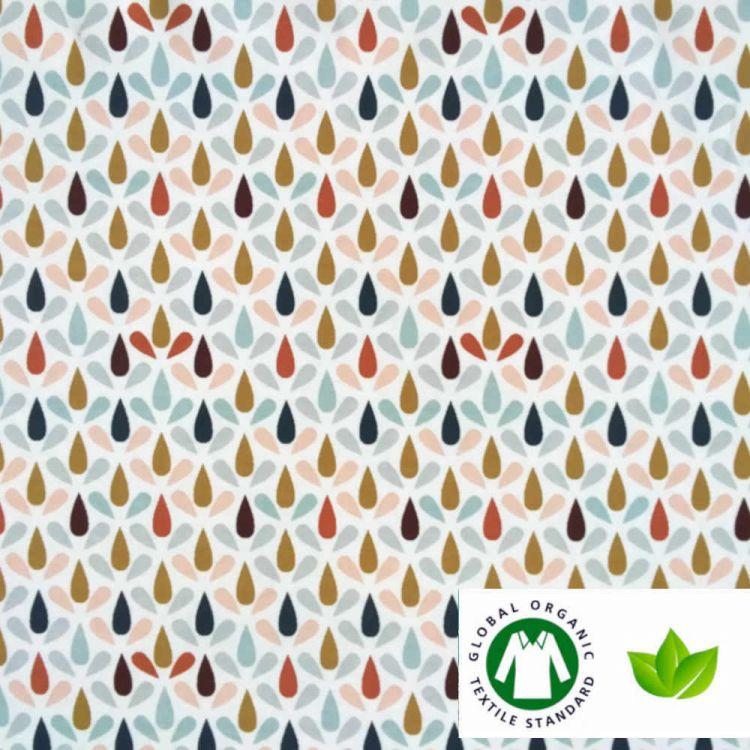 Punto algodón ECO est lluvia