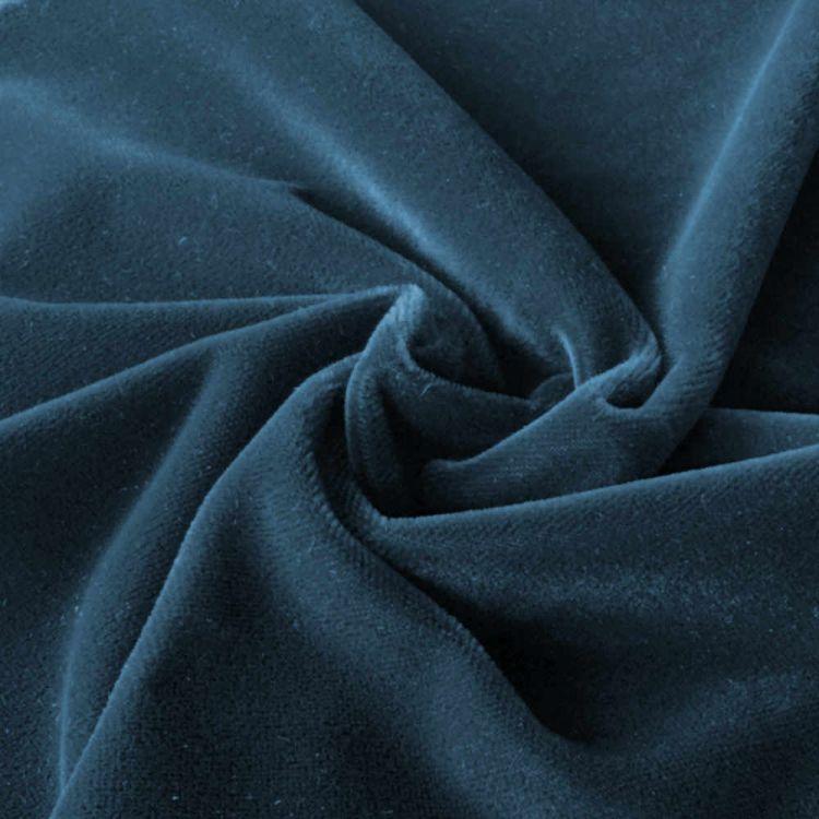 Terciopelo tapicería azul oscuro