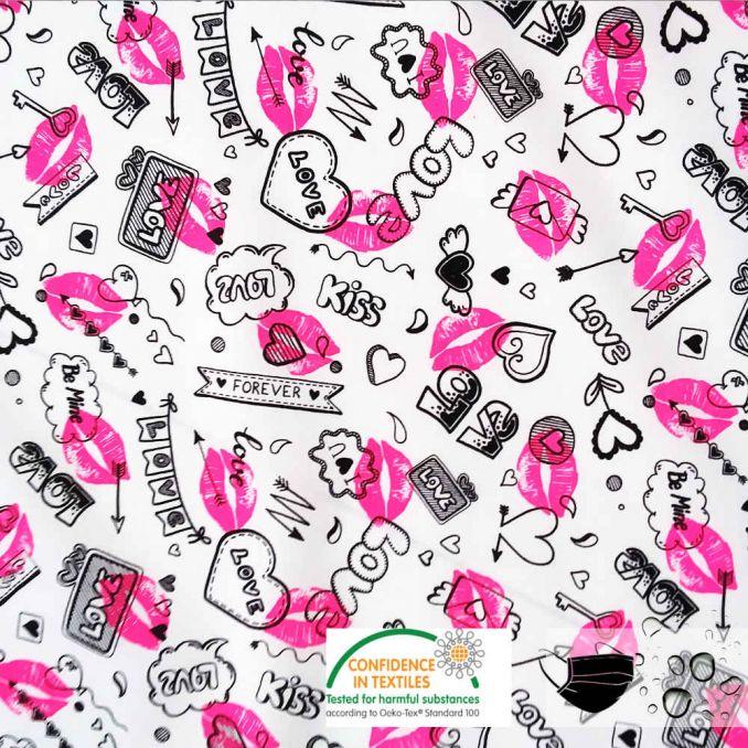 Algodón hidrofugo KISS | tela para MASCARILLAS
