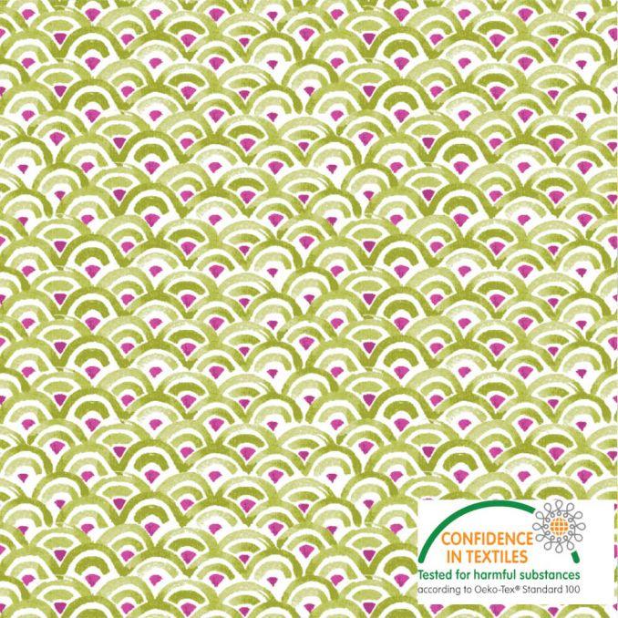 Algodón KATMANDU verde