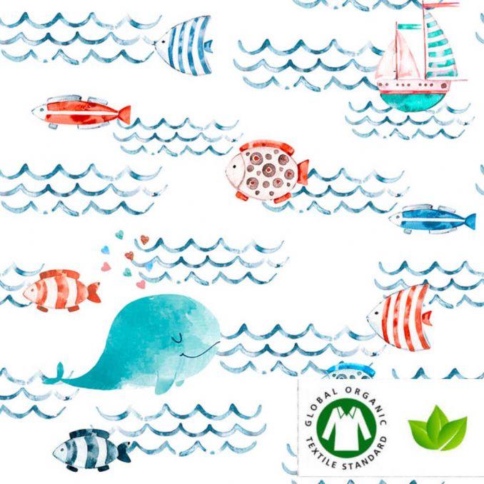 Algodón orgánico Mar