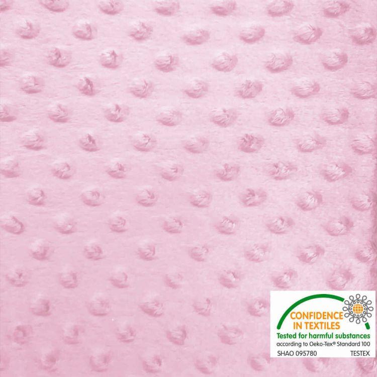 Coralina minky topos rosa