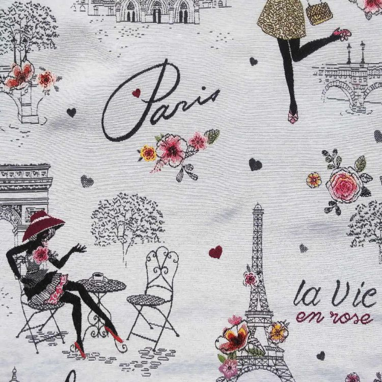Jacquard reciclado Paris