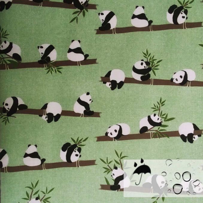 Algodón resinado fluido Panda