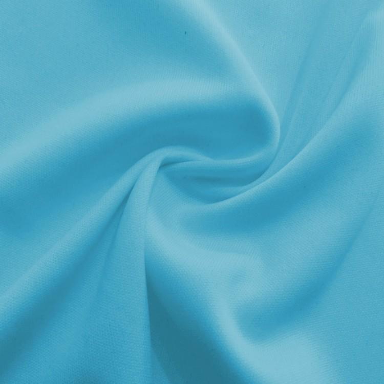 Punto de seda turquesa por metro