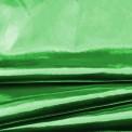 Tejido lamé verde por rollo