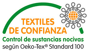 Certificado oekotex blonda por rollo