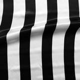 rayas blanco negro