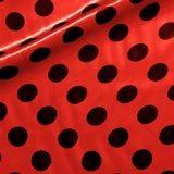 rojo topo negro
