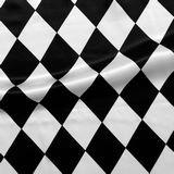 arlequin blanco negro