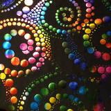 Multicolor fondo negro
